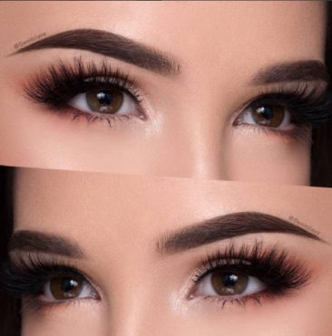 """@denitslava wearing our """"CHARLOTTE"""" lashes"""