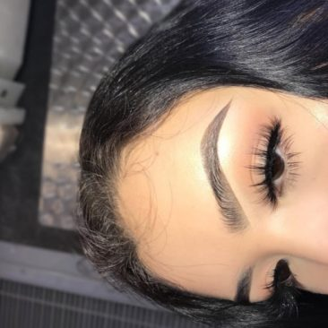 """@ibrowbaby wearing our """"Grace"""" lashes"""